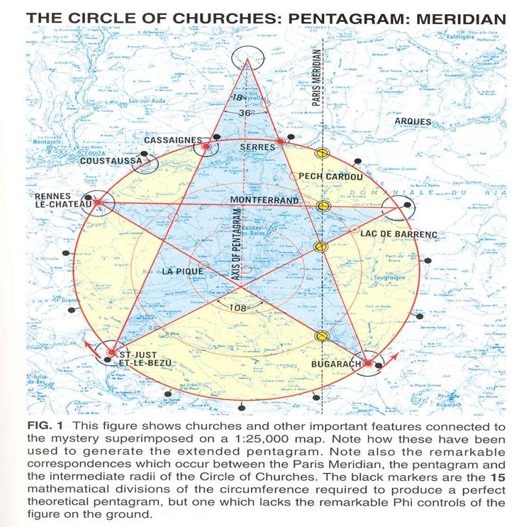 the pentagram above is reproduced from wood campbell s geneset target earth the authors think the sublime mathematics of this unusual pentagram provide